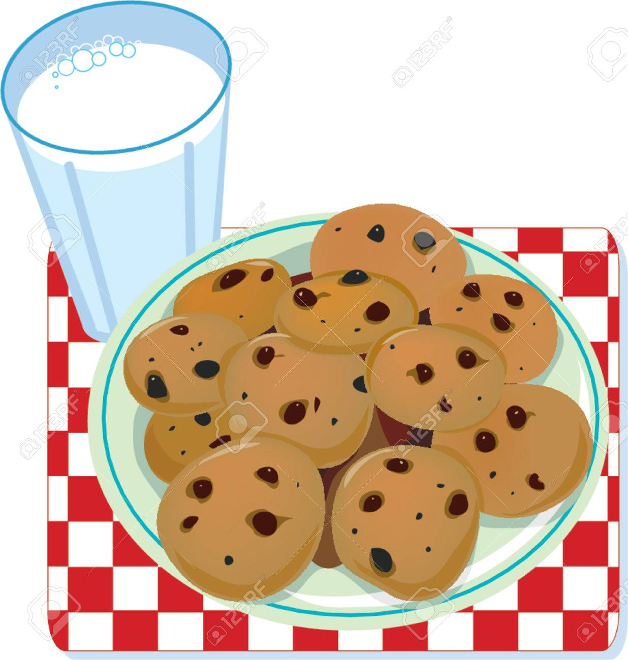 Plate of cookies clipart 5 » Clipart Station.