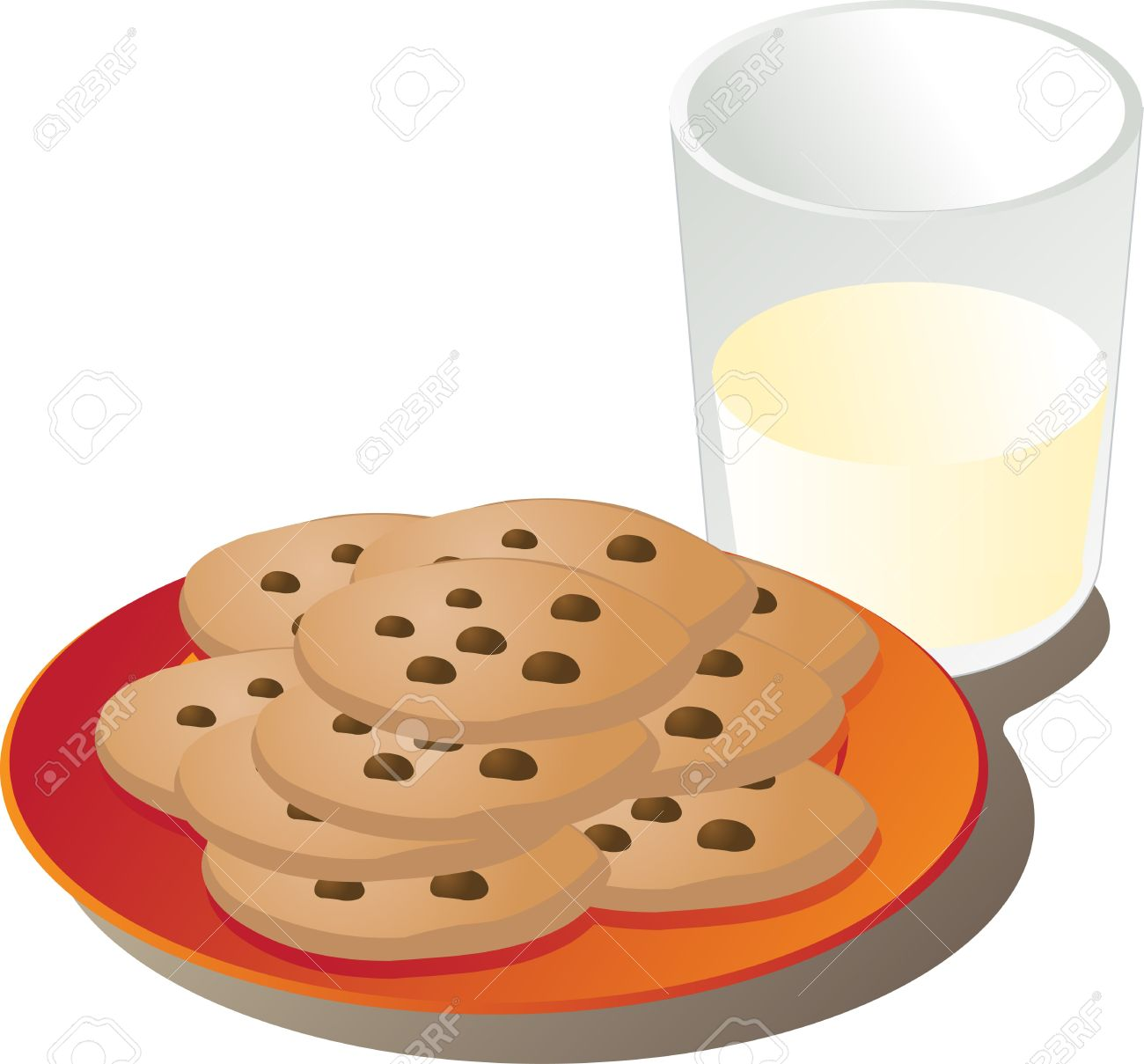 Plate of cookies clipart 7 » Clipart Station.