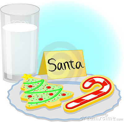Plate Of Christmas Cookie Clip Art.
