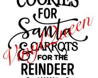Santa cookie plate.