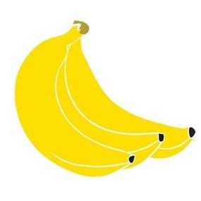 Cooking bananas clipart #8