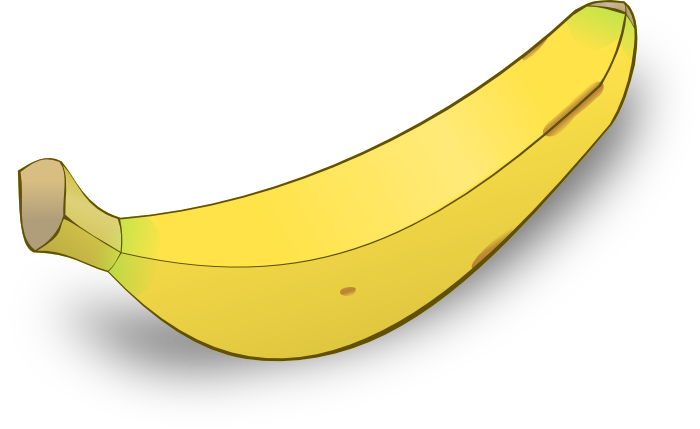 Bananas & Apples Clipart.