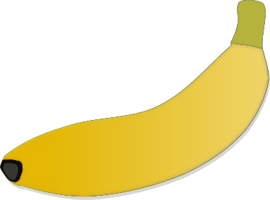 Free Banana Clipart, 1 page of Public Domain Clip Art.