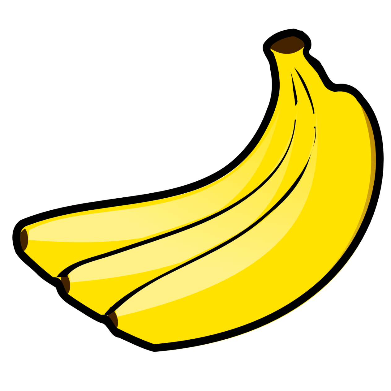 Cooking bananas clipart #12