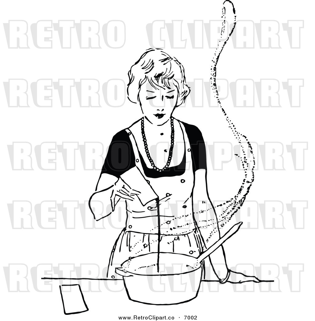 Cooking Black And White Clipart Clipground