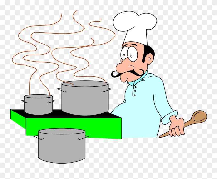Chef Cooking Clipart.