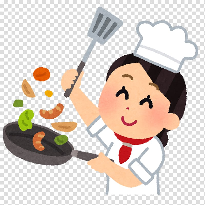 French cuisine 調理師 Cooking Chef, cooking transparent.