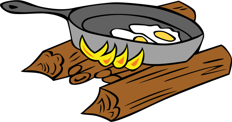 Cooking Clipart Black And White.