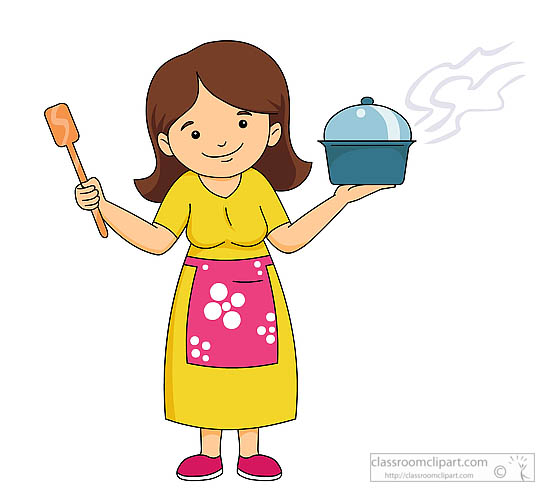 Cooking clip art free clipart clipartcow.