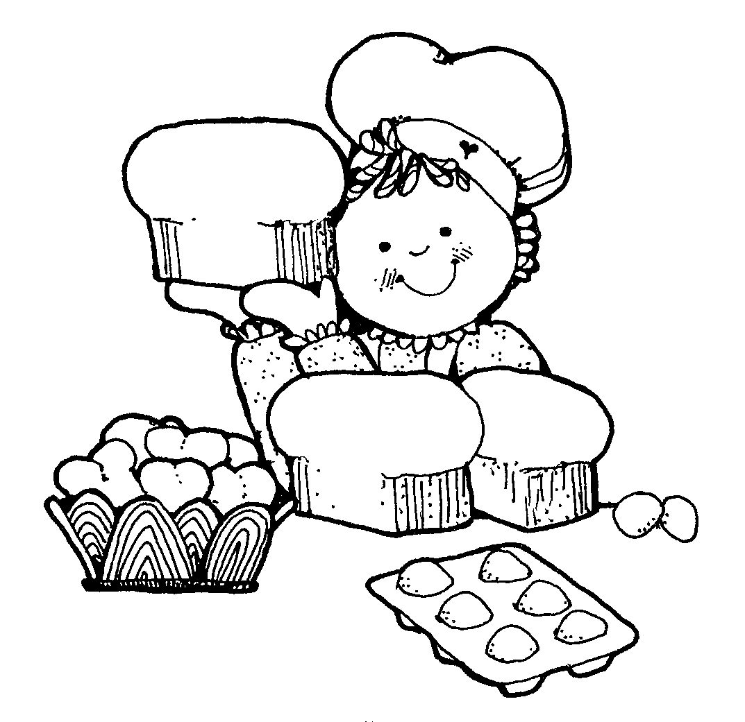 Free Cooking Clipart Black And White, Download Free Clip Art.