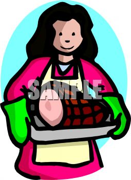 Cooked Ham Clipart.