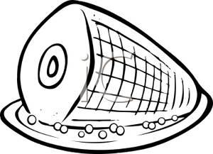 Ham Clip Art.
