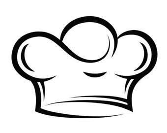 Chef Cap Clipart.