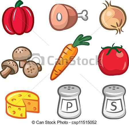 Cooking Ingredients Clipart#2017183.