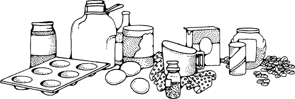 Clip Art Baking Ingredients Clipart.