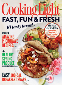 Cooking Light Magazine: May 2013 Magazine.