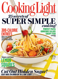 Cooking Light Magazine: August 2012 Magazine.