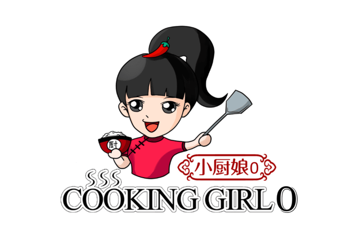 design attractive unique cooking logo with unlimited revision.