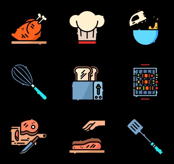 Chef Icons.