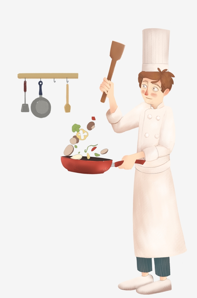Chef Cook Png, Vector, PSD, and Clipart With Transparent Background.