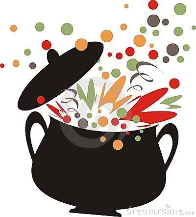 Clipart cooking pot.