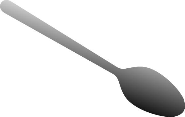Cartoon Spoon Clipart.