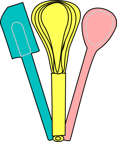 389 Cooking Utensils free clipart.