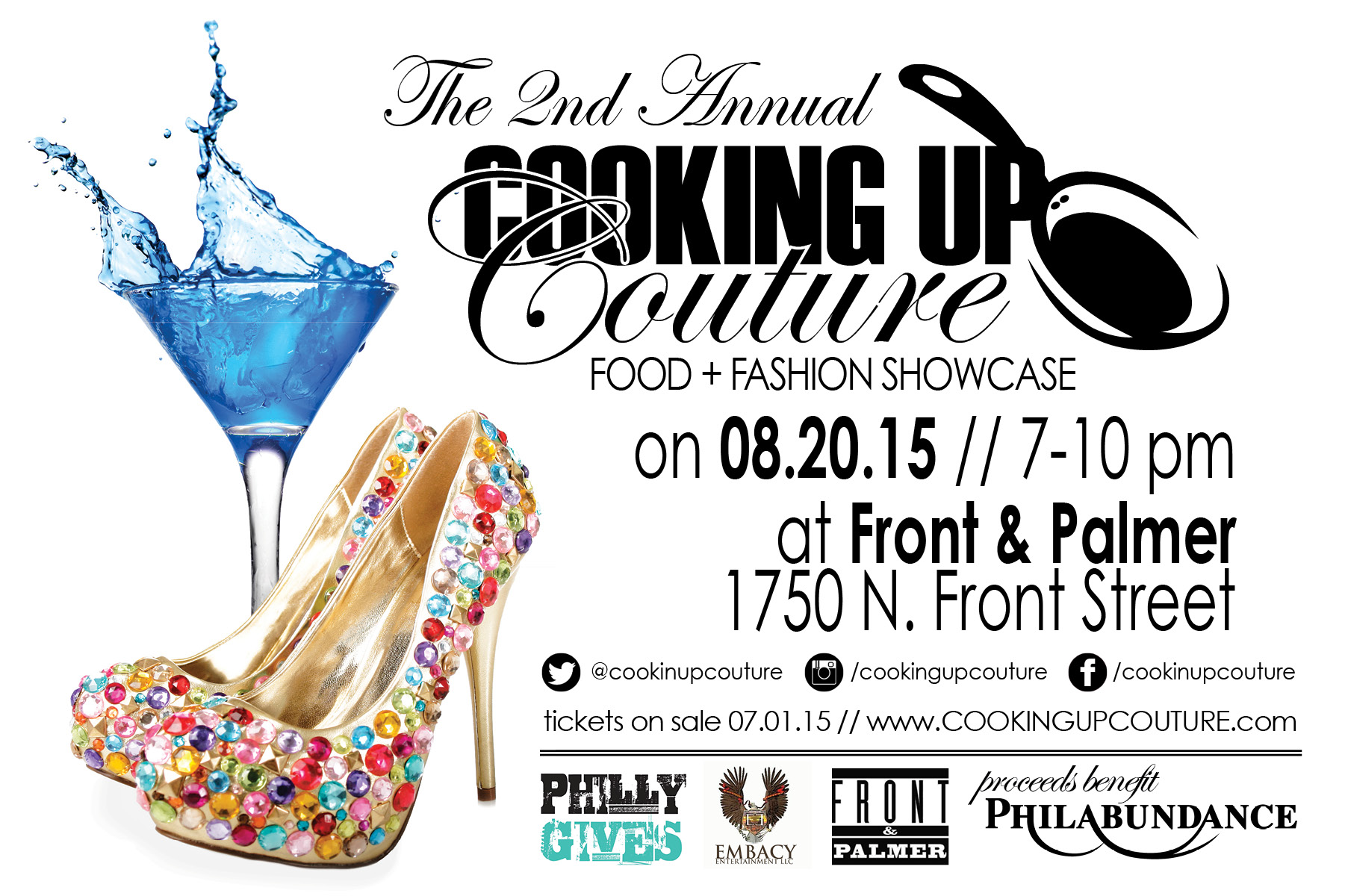 2nd Annual Cooking Up Couture Food & Fashion Showcase.