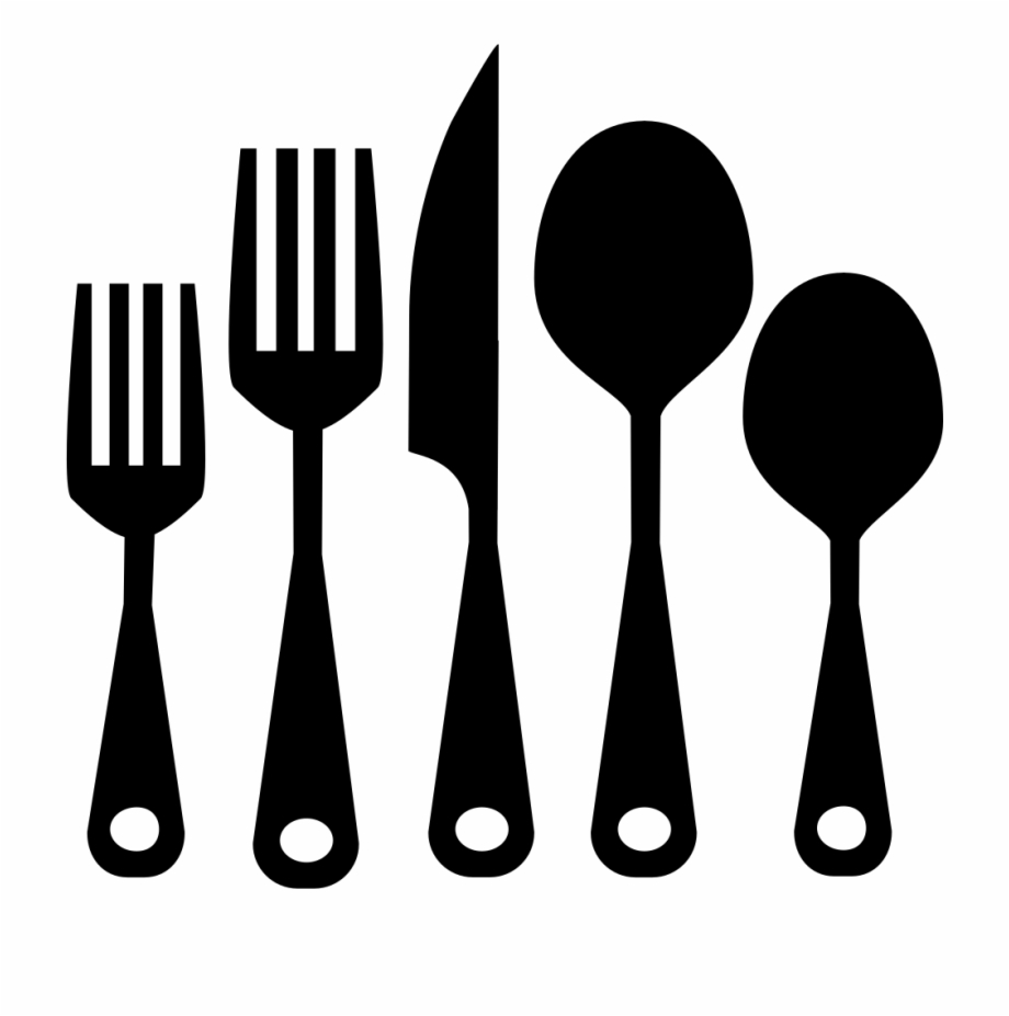 Cutlery Set Png.