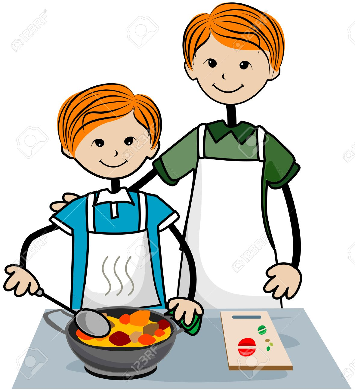Cooking For Kids Clipart.