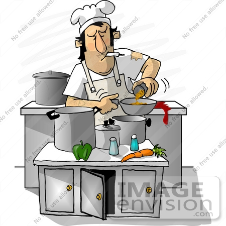 Make meme with Male Cooking Clipart.