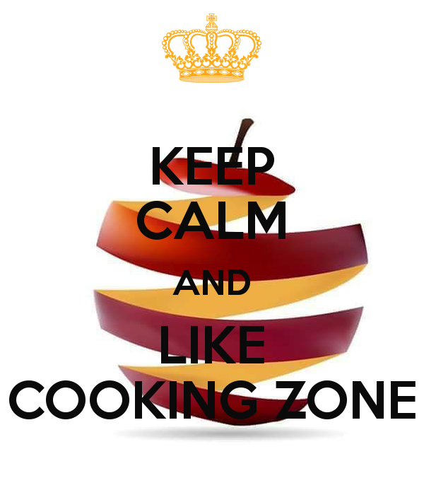 KEEP CALM AND LIKE COOKING ZONE Poster.
