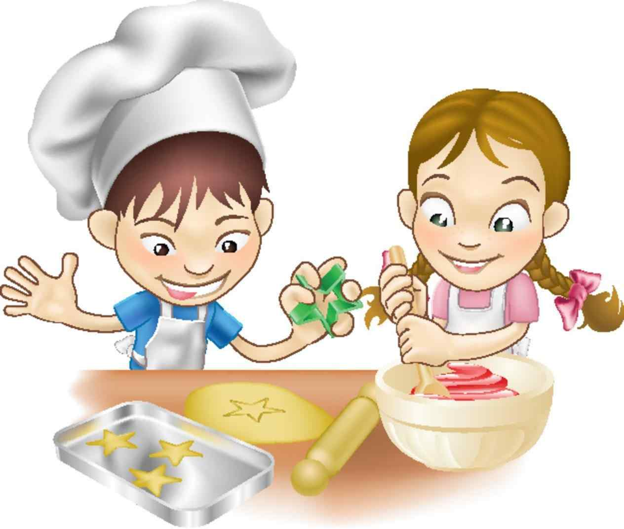 6382 Cooking free clipart.