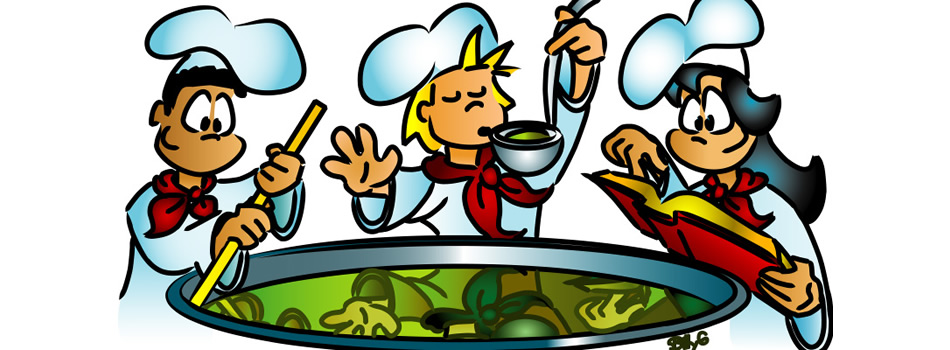 6381 Cooking free clipart.