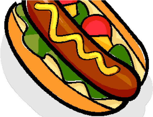 Download HD Hot Dog Clipart Cookout Food.