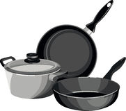 Cookware Stock Illustrations.