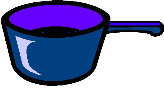 Cooking pots clipart.