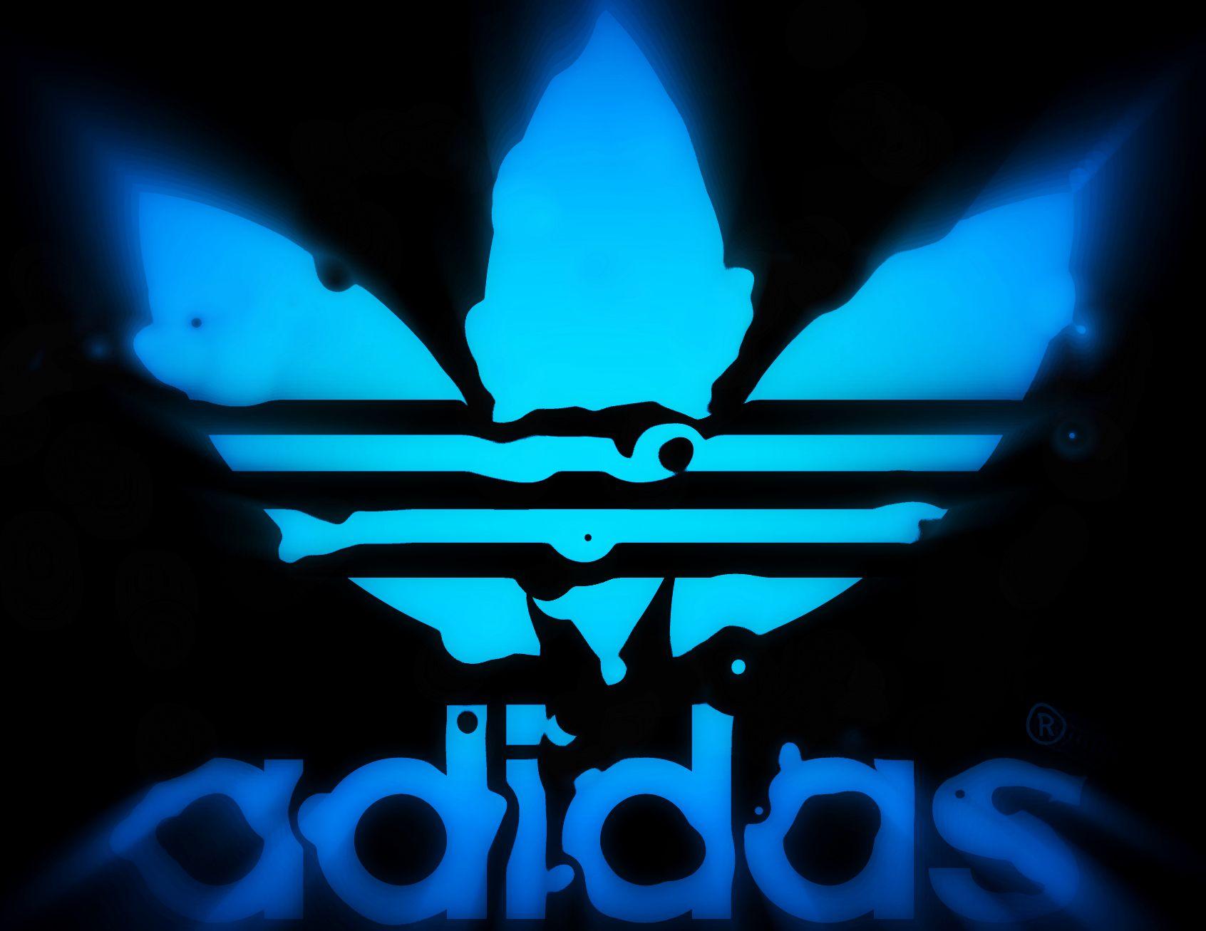Sick Adidas Logo.