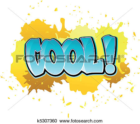Clipart of Graffiti cool background k5307360.