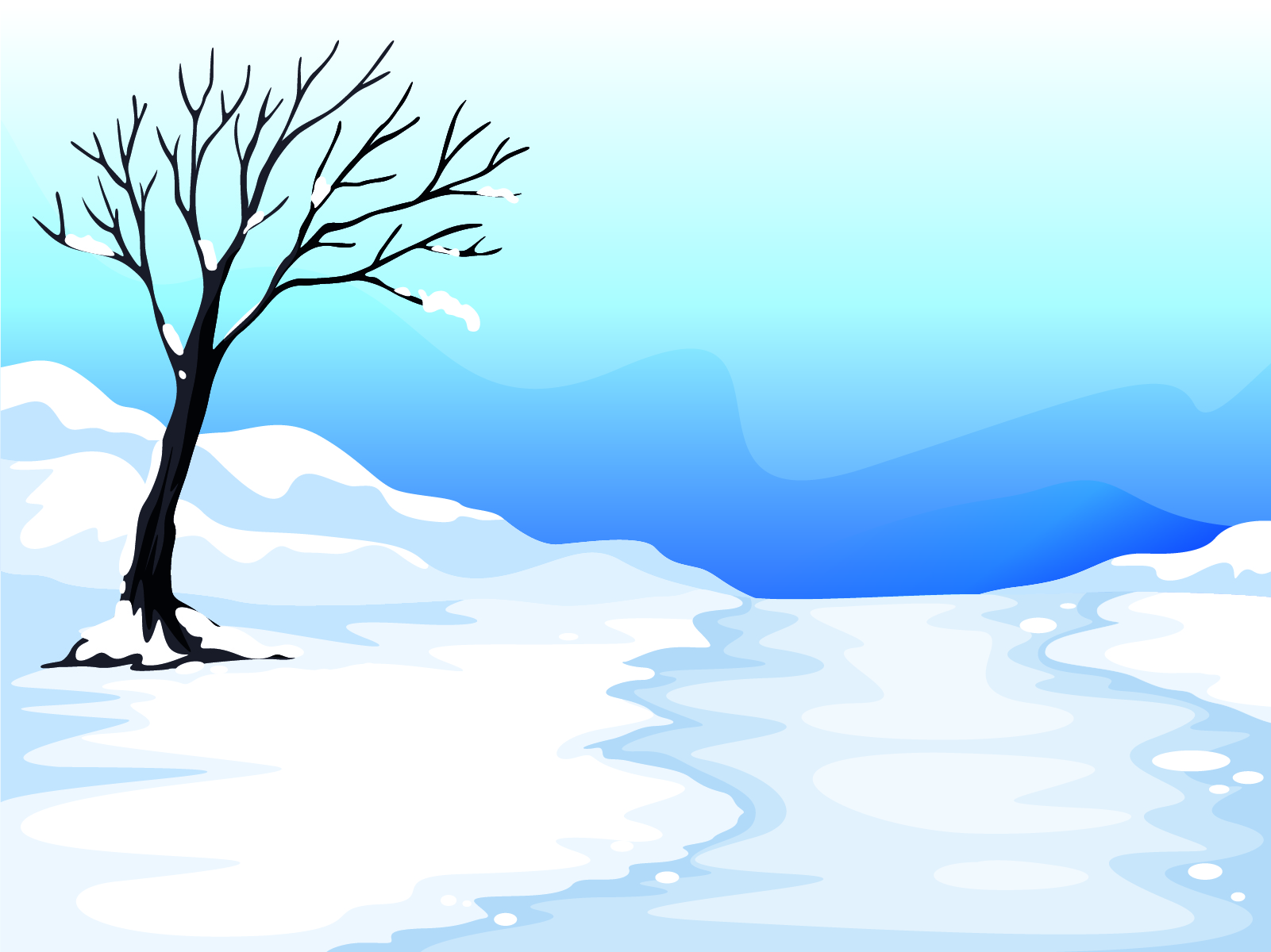 Cool Blue Background Clipart.
