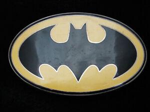 Details about QL15142 REALLY COOL BATMAN LOGO DC COMICS SUPERHERO BELT  BUCKLE.