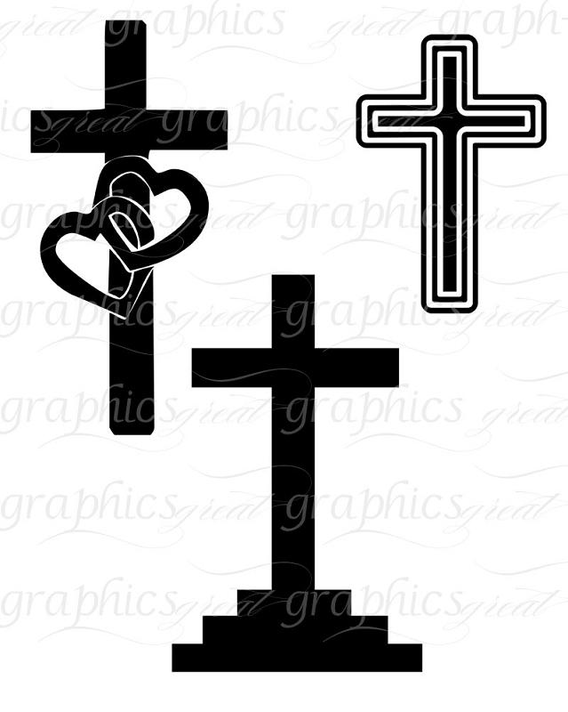 Christian Cross Clip Art Designs.