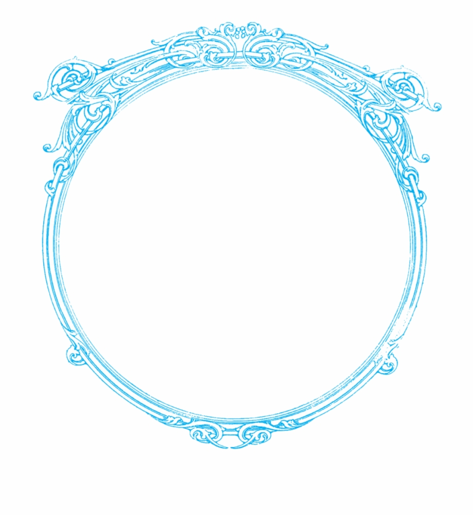 Round Frame Png Picture.