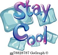 Stay Cool Clip Art.