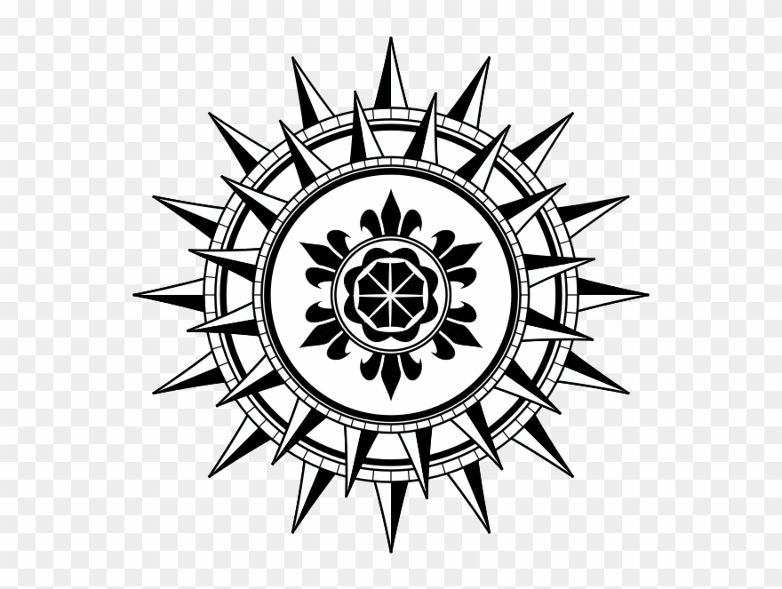 Cool Compass Rose Designs N2.