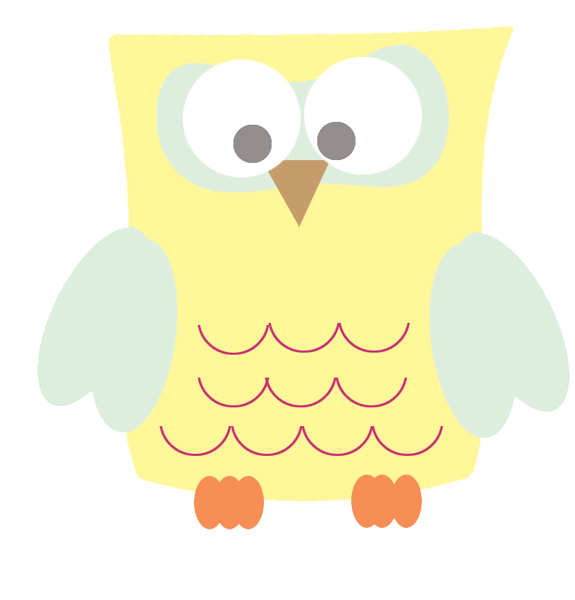 Clip Art Cool Drawings Com Image Files Yellow Square Owl.