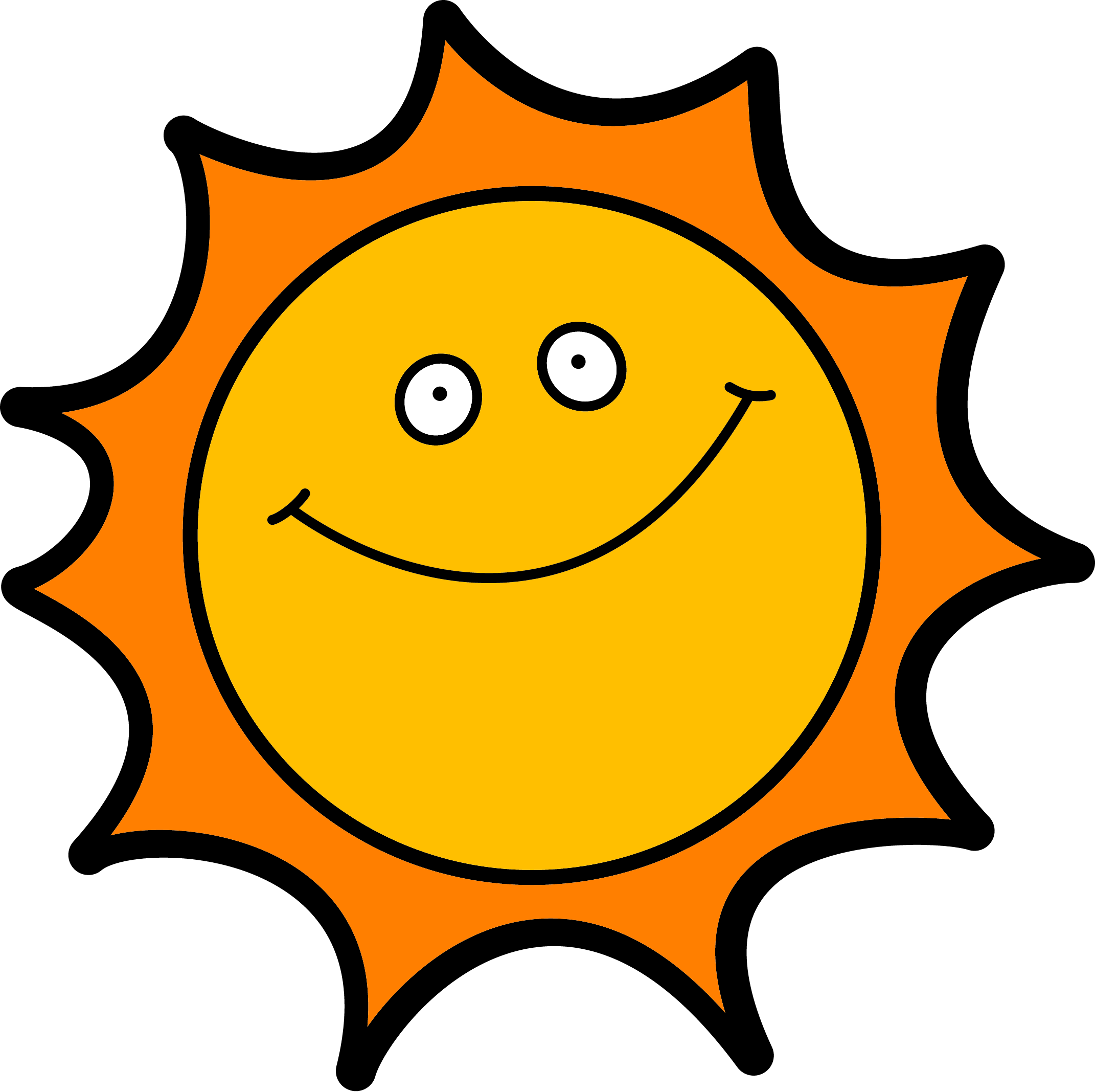 Clipart sunshine cool, Clipart sunshine cool Transparent.