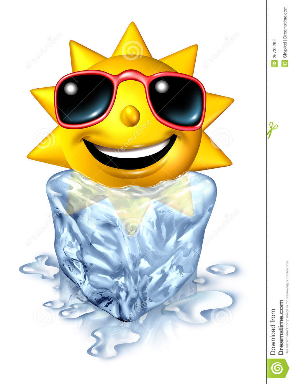 Cool Down Clipart.