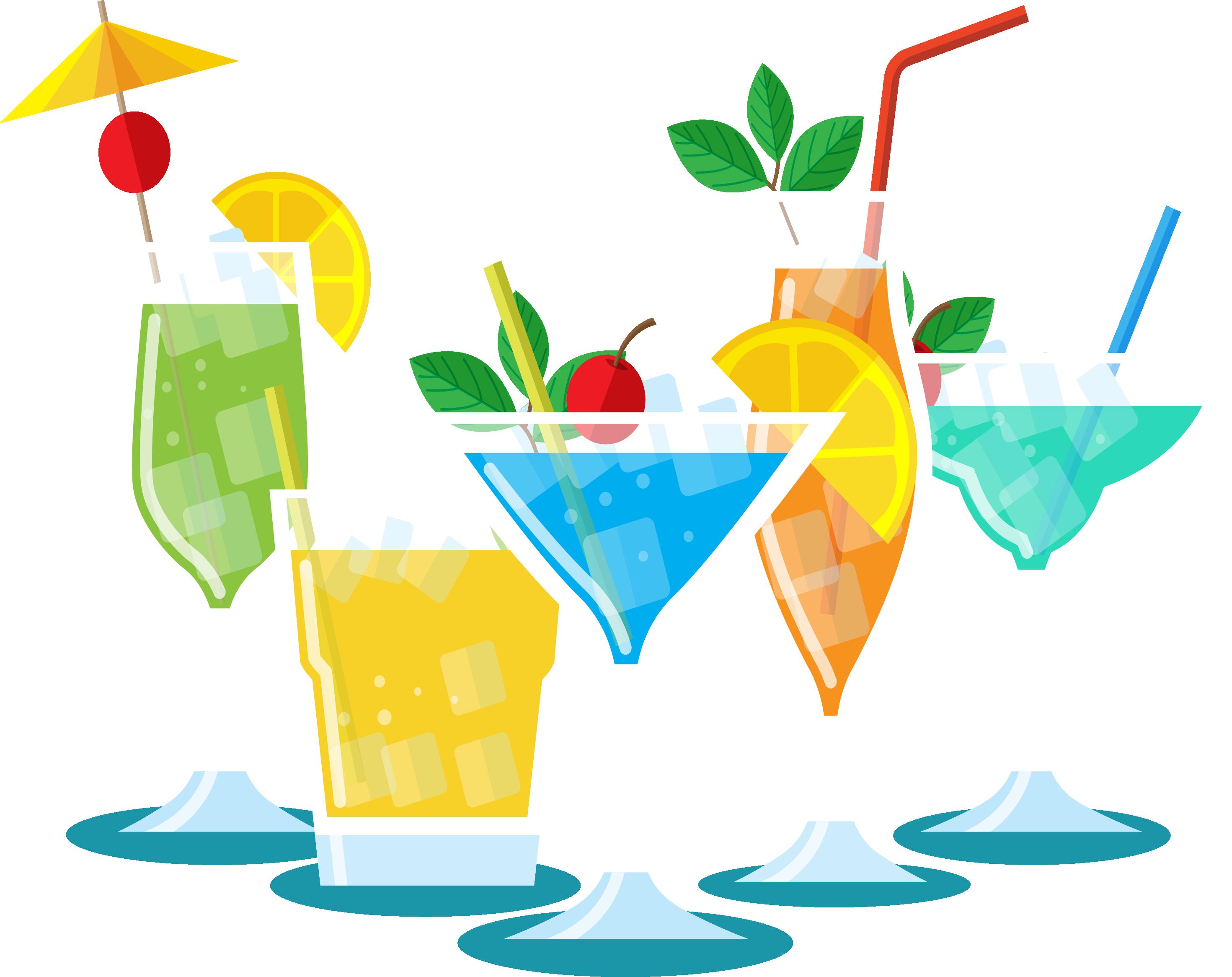Cocktails clipart cool drink, Cocktails cool drink.