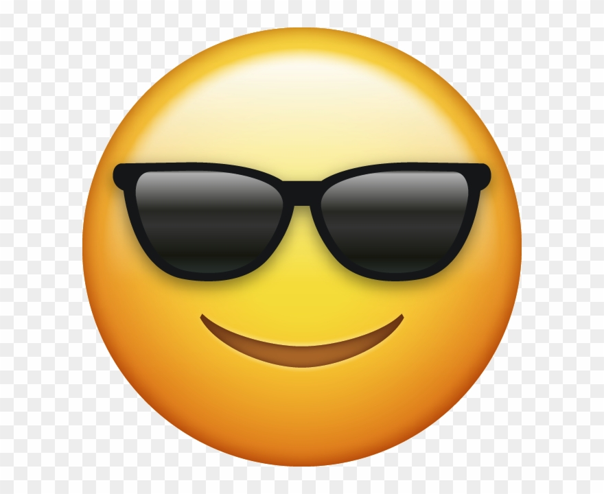 Download Sunglasses Cool Emoji Face [iphone Ios Emojis.